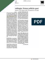 Informatica raddoppia, Scienze Politiche quasi - Il Resto del Carlino del 20 ottobre 2018