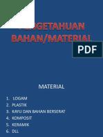 2.Pengetahuan Material