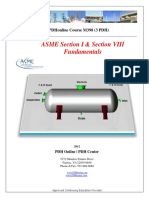 Fundamental Asme i & Viii