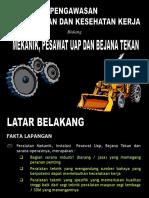 Pengawasan Bejana Uap Lampung.