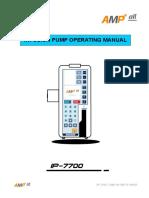 ip 7700 Manual