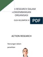 ACTION RESEARCH PENGEMBANGAN ORGANISASI