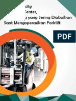 Load Capacity Dan Load Center, Hal Penting Yang Sering Diabaikan Saat Mengoperasikan Forklift