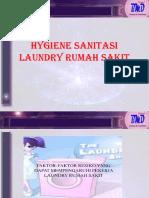 Hygiene Sanitasi Laundry Rumah Sakit