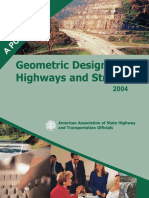 AASHTO-A Policy on Geometric Design of Highways and Streets 2004 ( 5th Ed. )-Amer Assn of State Hwy (2004)