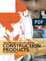 Procedures for Importing Construction Product