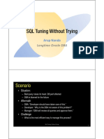 CON3632 Nanda-SQL Tuning Without Trying Ppt