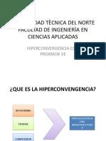 Presentaciòn de Hiperconvergencia