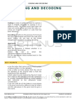 5-CODING and DECODING-26-Jul-2018_Reference Material I_Coding and Decoding