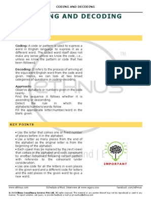 5-CODING and DECODING-26-Jul-2018_Reference Material