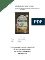 Ringkasan Buku Sirah Nabawiyah