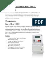 132KV 2 Line Metering Panel