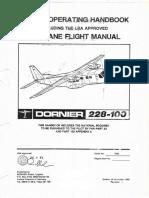 Dornier 228-100 Pilots Operating Handbook