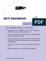 Duty Drawback Hand BOOK 2018