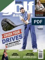 Golf Australia Feb 2018, Lee Westwood Crush Your Drive