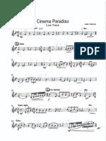 Morricone Cinema Paradiso Love Theme Vln1