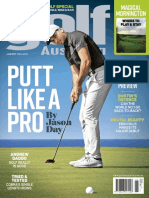 Golf Australia June 2017, Putt Like a Pro by Jason Day