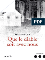 Ahlborn Ania - Que Le Diable Soit Avec Nous