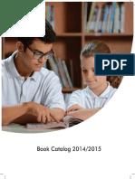 Book Catalog 2014-2015