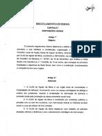 Regulamento Interno CLAS Aguiar da Beira