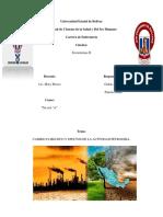 Cambio Climático y Efectos de La Actividad Petrolera. (1)