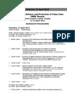 2013 Technical Agenda