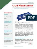 Kultur Newsletter 10
