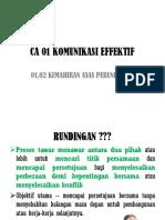 CA 1 Komunikasi Efektif 2