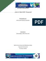 Evidencia 3 Matriz DOFA Presupuesto Hecha