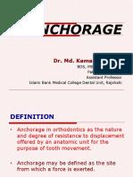 Anchorage in Orthodontics