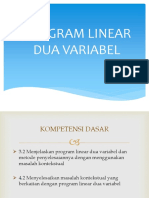 Program Linear Dua Variabel