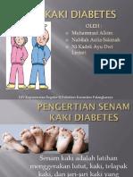 Ppt Senam Kaki Diabetes
