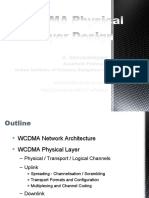 WCDMA Physical Layer Design