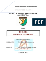 RECURSOS NATURALES MONOGRAFIA
