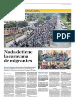 Nada Detiene La Caravana de Migrantes