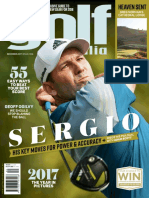 Golf Australia_December 2017, Sergio Garcia His Key Move for Power & Accuracy