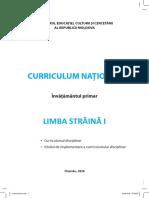 Curriculum Limba Straina Primar Tipar