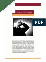 Claudio Magris, La Carta de Lord Chandos