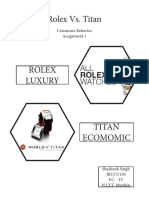 Rolex vs Titan