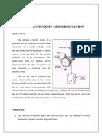 2.Study Deflection Dial Gauge