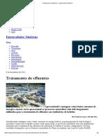 Tratamento de Efluentes - Reator IC