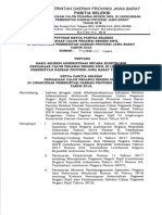 Hasil Seleksi Administrasi - Cpns Pemprov Jabar 2018