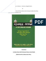 Azhar-Ul-Fatawa by Azhari Miya