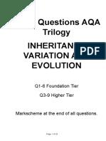inheritance exam q