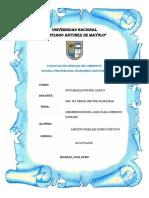 DESINFECCion de sistemas de agua potable