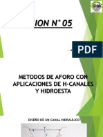 SESION N°05_APLICACION CON HCANALES_HIDROESTA_AFOROS