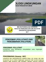 [2] BahanKuliah Ekotoksikologi ToksikologiLingkungan Revisi 2017-1