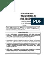 Manual de Operacion Quick Turn Smart 350m
