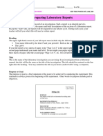 How to Write a Lab Report Ver 2