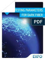 Exfo Guide Key Testing Parameter for Dark Fiber En